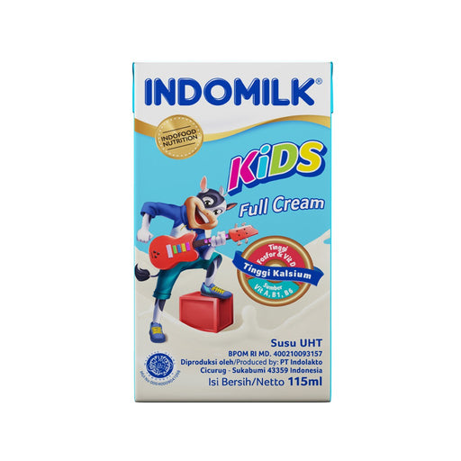 Susu Indomilk Kids Plain 125 ml Per pak ( 5 pieces ) - Tuquh