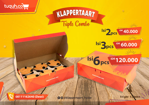 Klappertaart Original Per Box - Tuquh