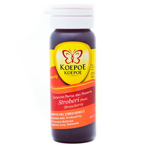 Pasta Strawberry Cap Koepoe-Koepoe 30ml - Tuquh
