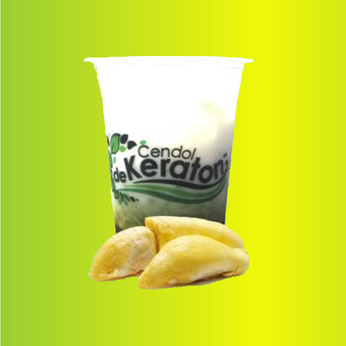 Cendol De Keraton Durian Cup 400 ml Per 5 pieces - Tuquh