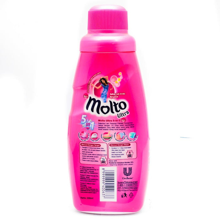 Molto Ultra Pink Bottle 300ml - Tuquh