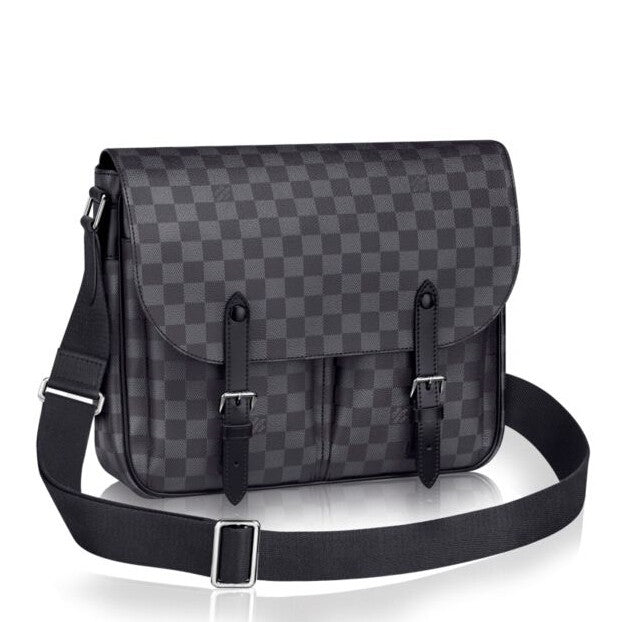 New LV Christopher Messenger Damier Graphite - Tuquh