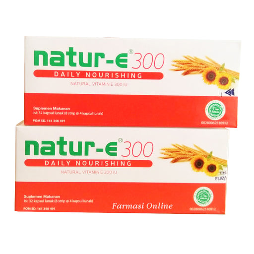 Natur E 300 isi 32 pcs (softgel) - Tuquh