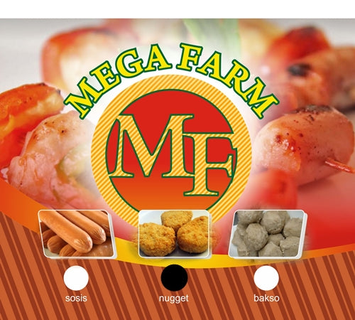 Nugget Mega Farm Per pack 1 Kilogram - Tuquh