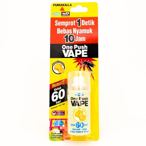 One Push Vape Lemon 60 Hari - Tuquh