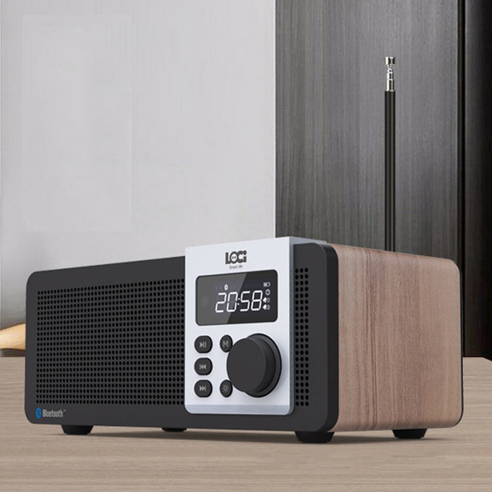Wireless Wood Bluetooth Speaker Retro Model - Tuquh