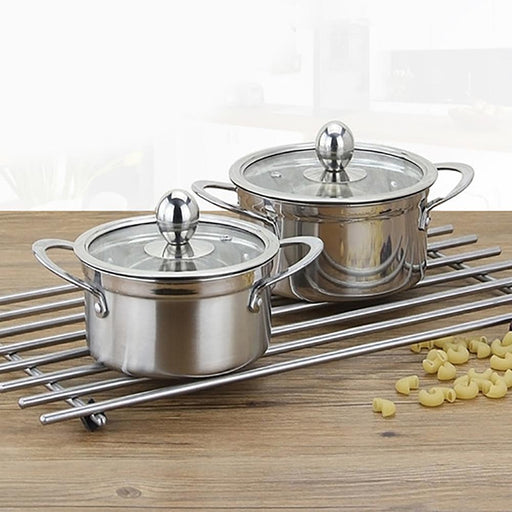 Panci Stainless Steel Thickened Soup Pot Milk Pot Soup Pan - Tuquh