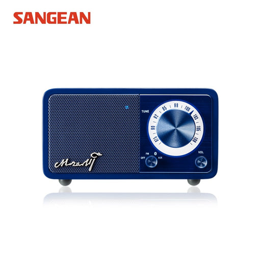 Sangean Mozart Mini Blue Bluetooth speaker with radio - Tuquh