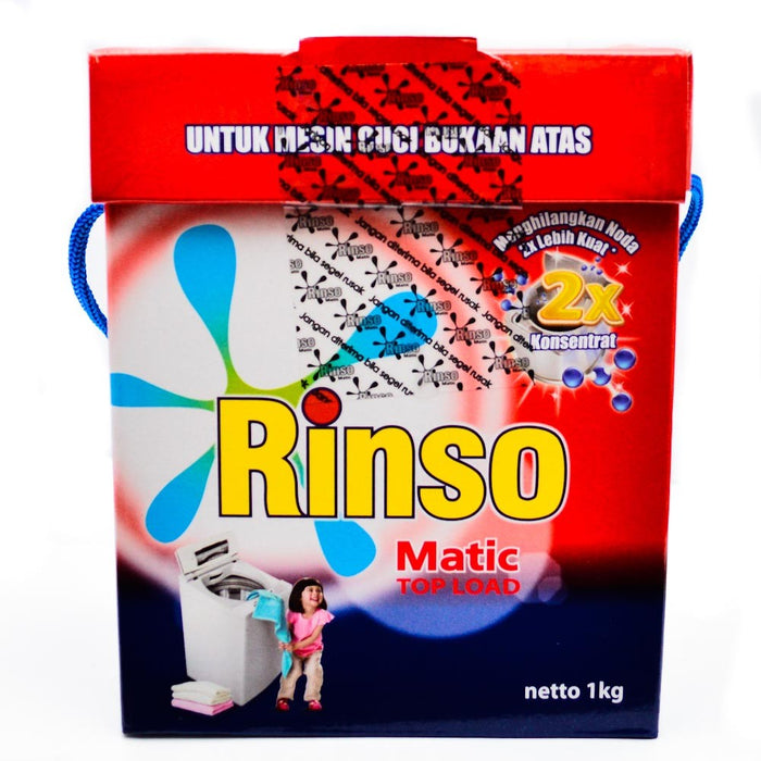 Rinso matic Detergent Top Load 3Kg - Tuquh