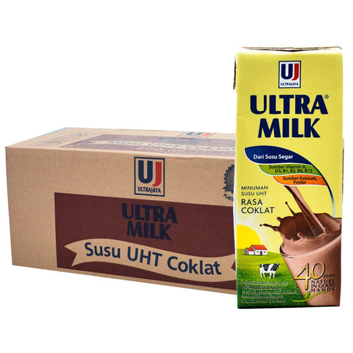 Ultra Milk 200 ml Cokelat Per Dus - Tuquh