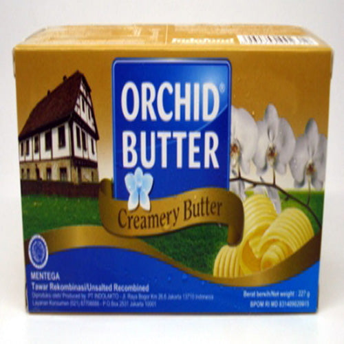 Orchid Butter Unsalted 227 gr - Tuquh