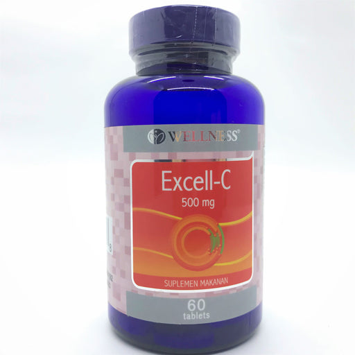 Wellness Excell-C 500mg (60) - Tuquh