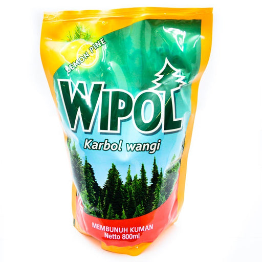 Wipol Floor Cleaner Lemon Pine Pouch 800ml - Tuquh