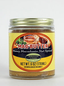 Roasted Macadamia Nut Honey Butter