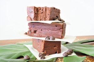 Dark Chocolate, Chocolate Chip Goat Milk Fudge
