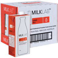 Almond Milk  - Milk Lab 1 Litre 8 Pack