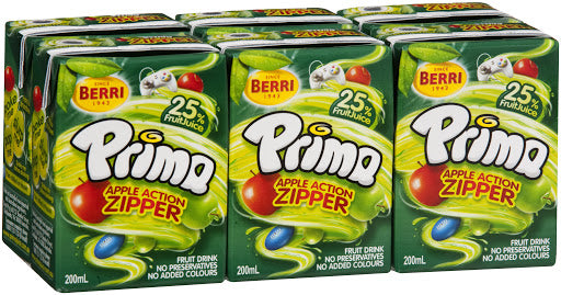Juice Apple 200ml x 24 Prima