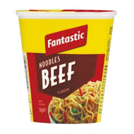 Beef Noodle Cup 70gm 12 Pack Fantastic