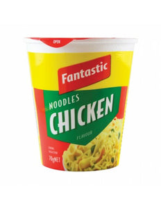 Chicken Noodle Cup 70gm 12 Pack Fantastic