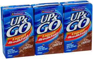 Up & Go Chocolate 250ml x 12 Sanitarium