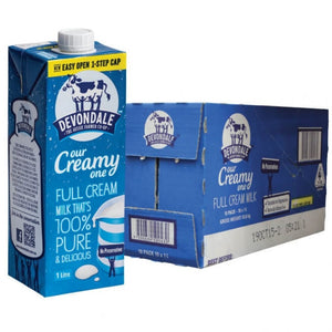 Full Cream Milk Devondale 1 Litre