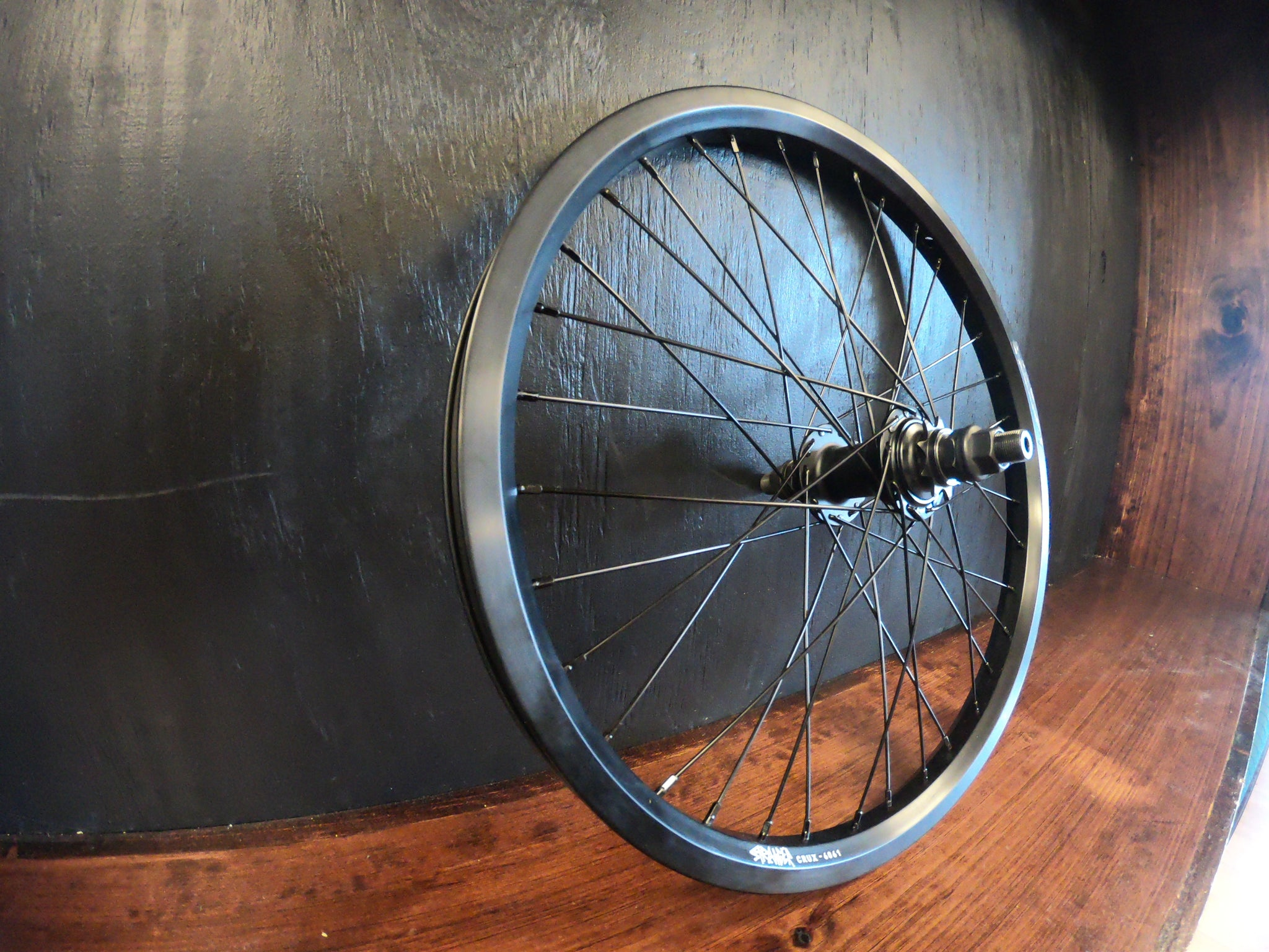 Stranger crux wheel Black