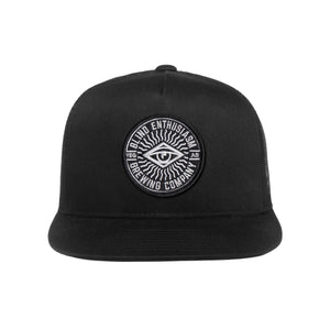 Logo Trucker Hat – Black