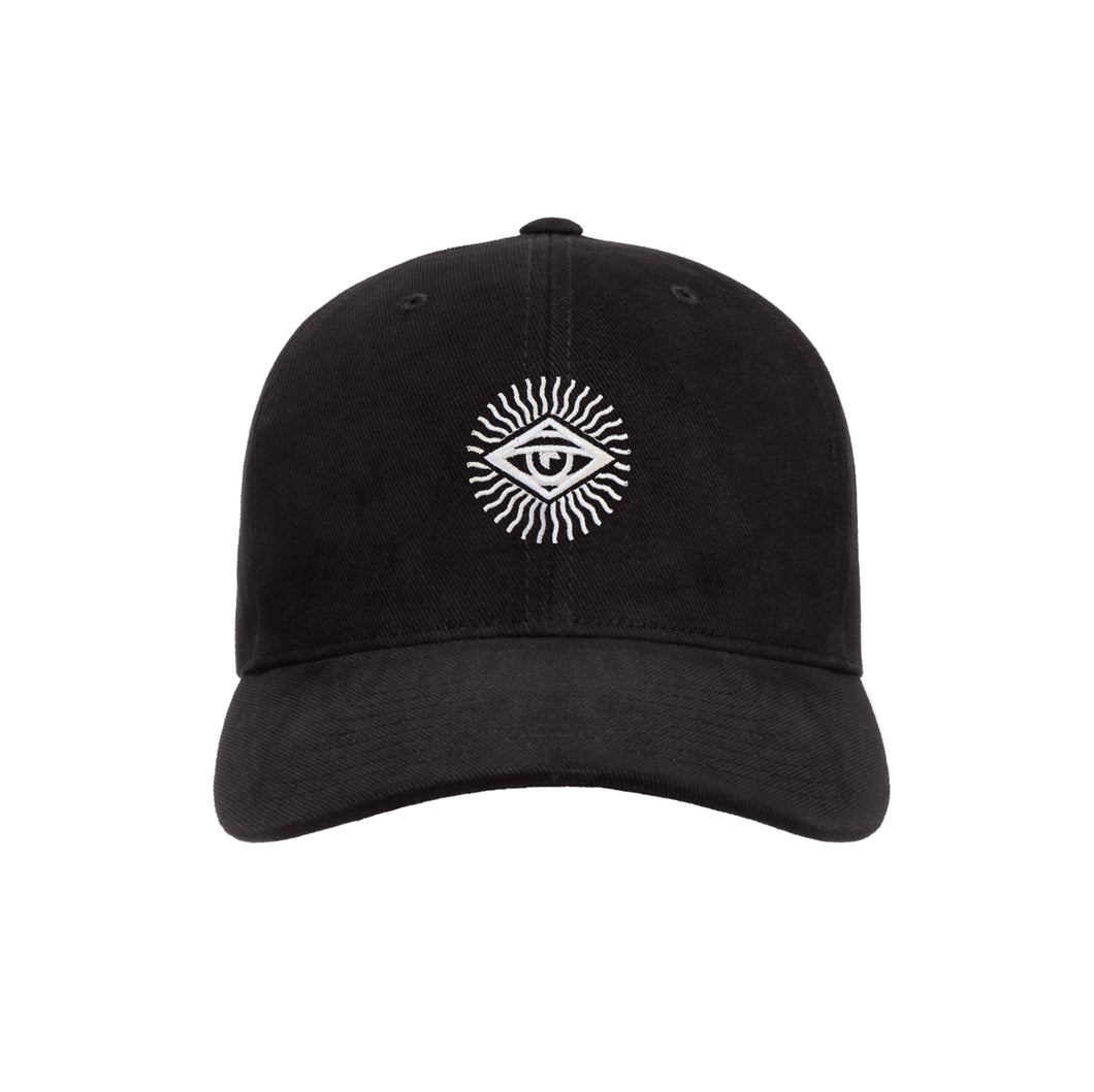Radiant Eye Hat – Black