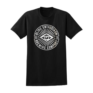 Blind Enthusiasm Circle Logo Tee