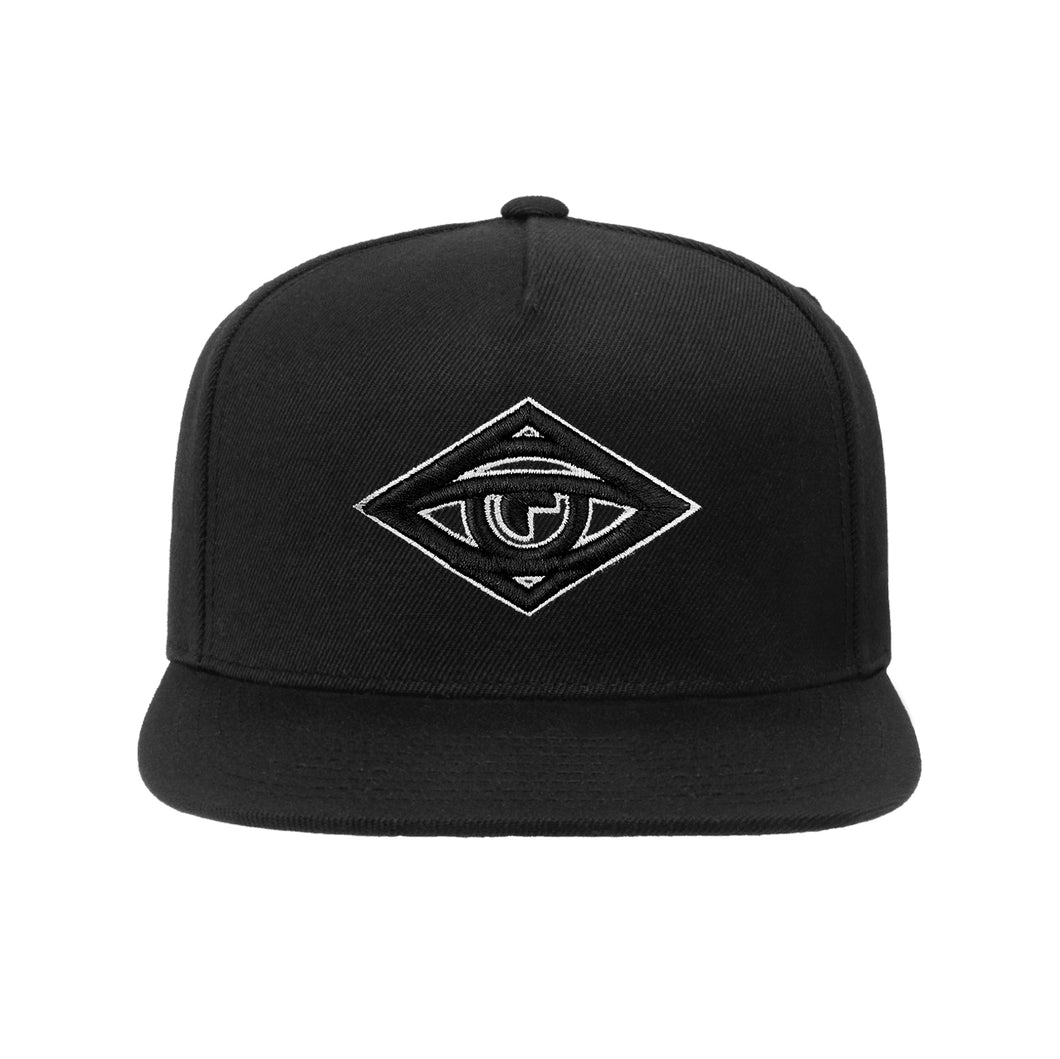 Puffy Eye Hat – Black