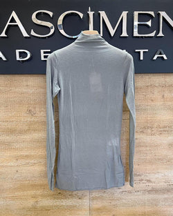 Cashmere Mix Shirt in grau