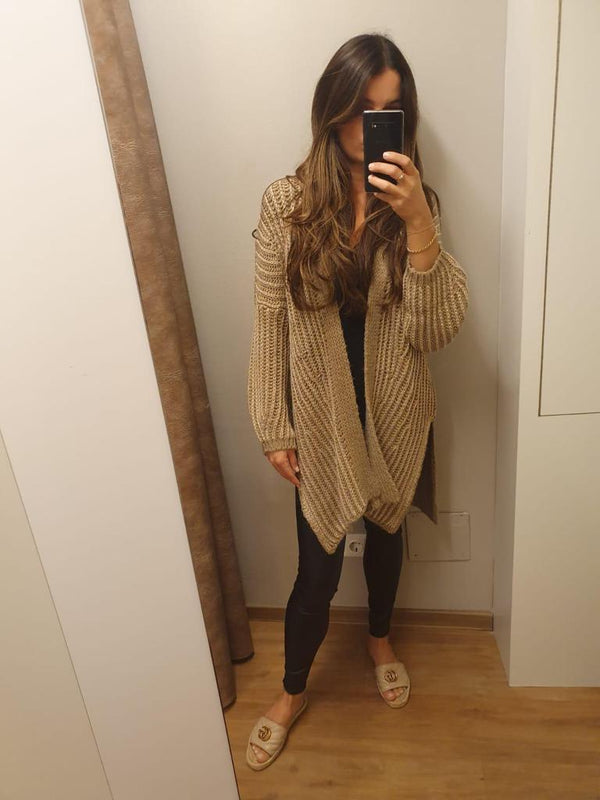 OUTFIT 42 - Lässiger Oversize Cardigan