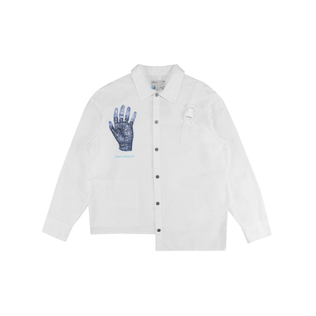 "18SS ""ZERO GRAVITY"" RECONSTRUCTED WORK SHIRT"