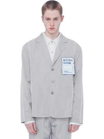 """FM-2030"" Human Data Storage 3M Sporty Tailor Jacket"