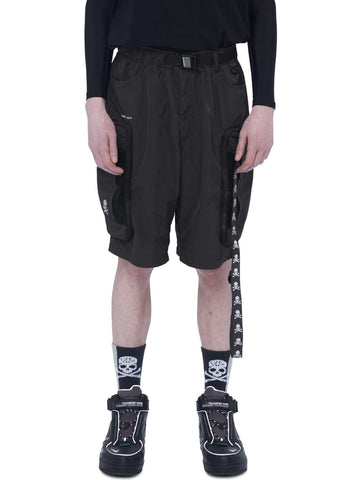 "C2H4® X MASTERMIND JAPAN ""TX-074"" Logo Stripe Utility Packable Short"