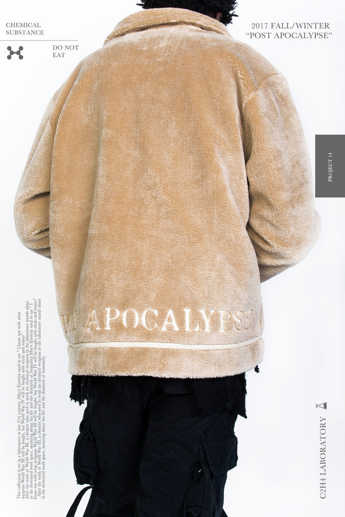 "17FW ""POST APOCALYPSE"" FLEECE JACKET"