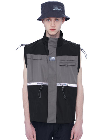 """FM-2030"" 3M Bandwidth Color Blocked Cords Vest"