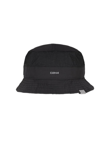 """Post Human Era"" Data Administrator Mesh Panelled Nylon Bucket Hat"
