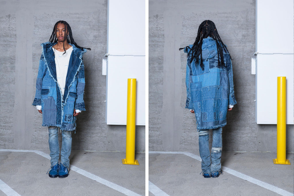 "16SS ""ICE COLD"" BORO DENIM PARKA"