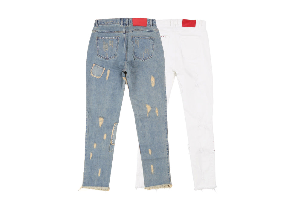 "16SS ""ICE COLD"" PATCH JEANS"