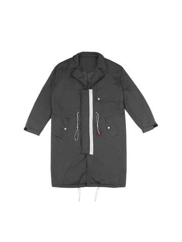 "18FW ""SYSTEM ON CARBON"" Lightweight  Down Trench Coat"