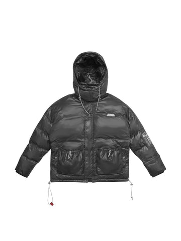 "18FW ""SYSTEM ON CARBON"" Mental Toxicity  Down Jacket"