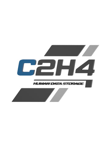 C2H4® Human Data Storage Logo Sign