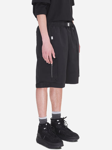 """Neonaissance"" Side Pockets Track Shorts"