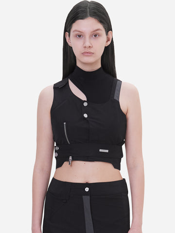 """Neonaissance"" Asymmetry Women Tactical Two-Piece"