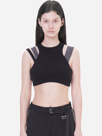"""Neonaissance"" Layered Women Sporty Bra"