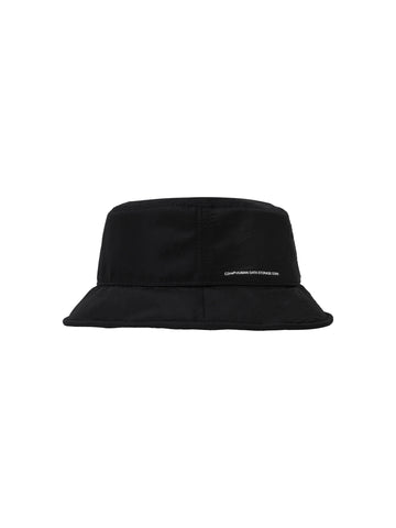 """Neonaissance"" Crooked Panelled Flexional Brim Bucket Hat"