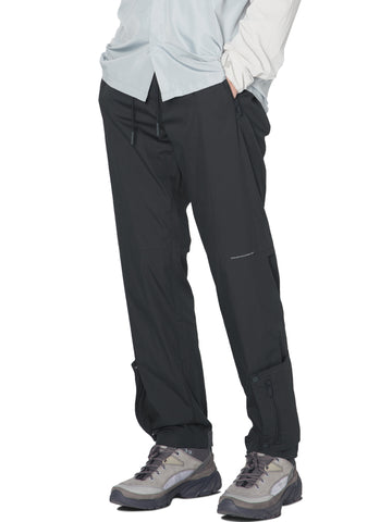 """Post Human Era"" Time Secret-Service Side Pockets Track Pants"