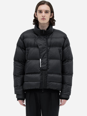 """Filtered Reality"" Loom Down Puffer Jacket"