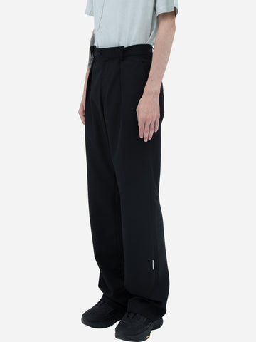 """Filtered Reality"" Folded Waist Tailored Trouser"